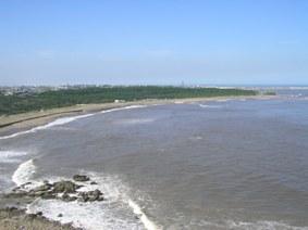 犬吠埼灯台から見た海