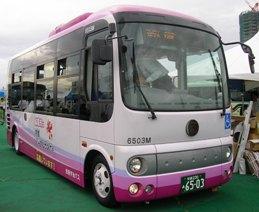 京阪宇治バスのポンチョ