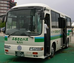 京阪京都交通「ふるさとバス(亀岡市)」