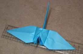 普通の折鶴