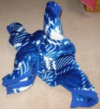 毛布折鶴…首が座らない