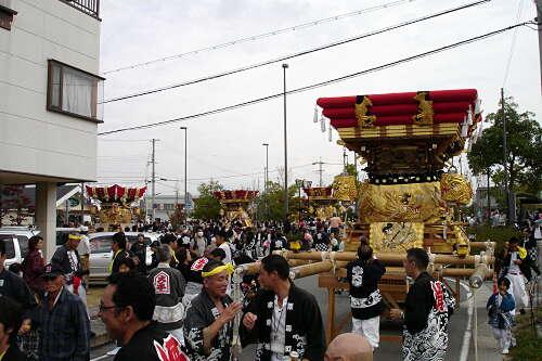 2009岩壺秋祭り