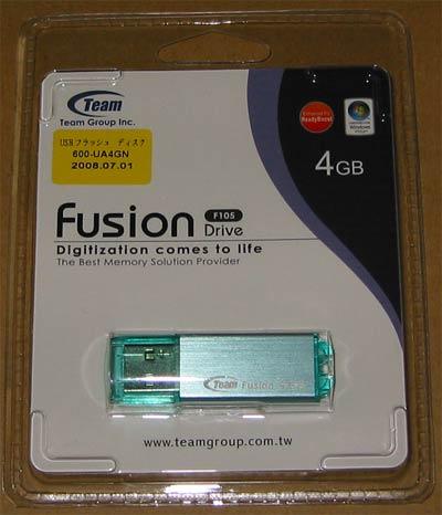 サンワダイレクト 600-UA4GN(Team製FusionII 4GB[F105])