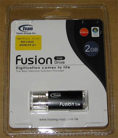 サンワダイレクト 600-UA2G(Team製Fusion Drive 2GB[F102])