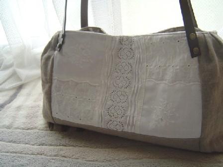 手刺繍バッグ