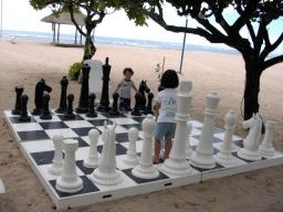 でかいチェス