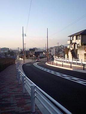 朝の通勤路(小)