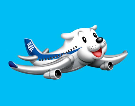 犬飛行機 イラスト魂 楽天ブログ