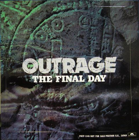 OUTRAGEの名盤 『My Final Day』...