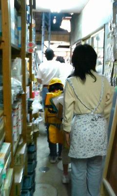 店内の様子と子どもたち 5