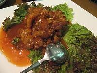 酢豚トマトソース味
