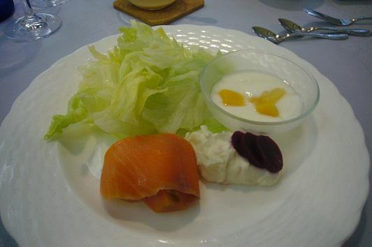 オーベルジュの朝食1