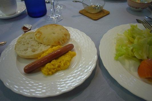 オーベルジュの朝食2