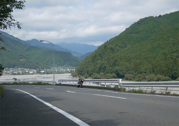 大井川沿い