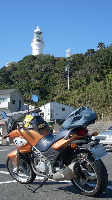 御前崎灯台とF650CS