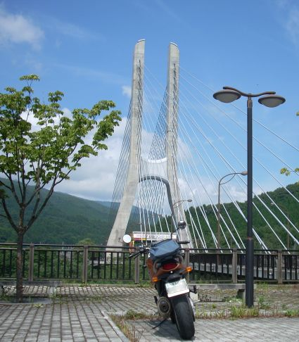 尾瀬行きの橋