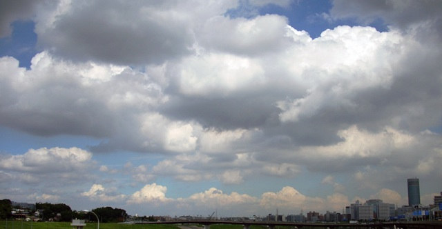 もこもこの雲