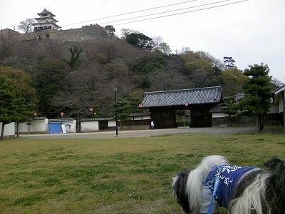 丸亀城にて1