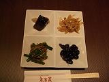 「京百菜」のおばんざいセット