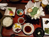 「京百菜」の豆腐のおばんざい