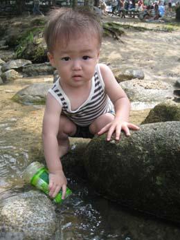 2010年初川遊び