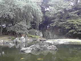 靖国神社の庭園