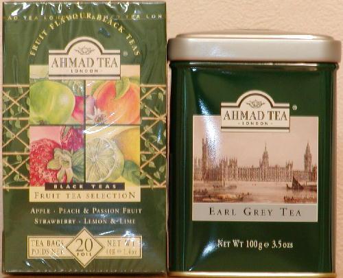 AHMAD TEA (アーマッドティー) アールグレイ/フルーツティー セレクション