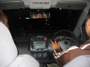 まっさん運転