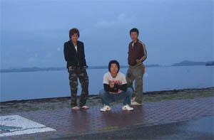 早朝の松島