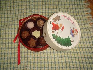 2009.12 クリスマスプレゼント チョコ