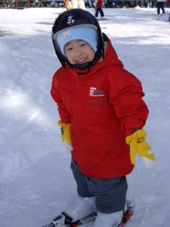 スキーって面白いよ!!