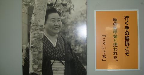 平林たい子記念館---「私は生き...