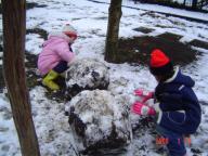 今年初雪遊び