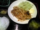 生姜焼き 1
