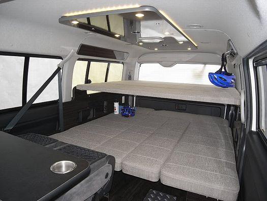 ファミリーワゴン 2段ベッド