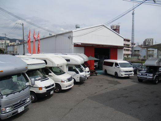 キャンピングカープラザ大阪展示場