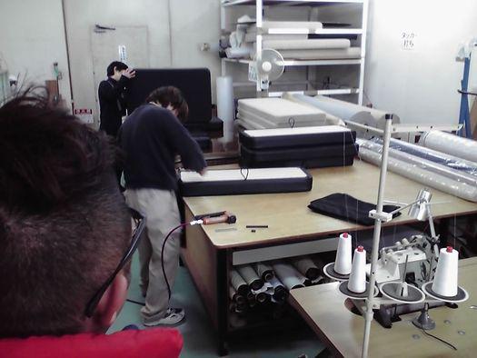 徳島工場 縫製