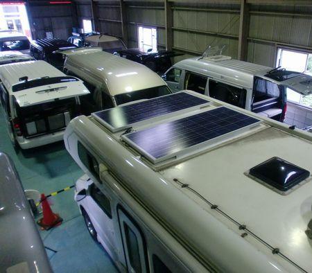 ソーラーパネル 125W×2