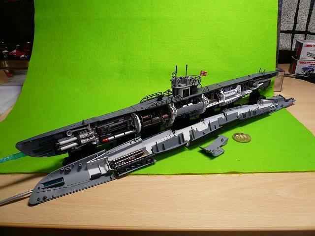 完成形 鋼密度模型 「U-BOOT」
