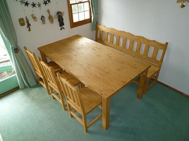 ダイニングテーブル 無垢1