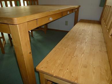 ダイニングテーブル 無垢3