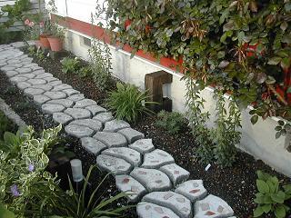 飛び石ガーデン11