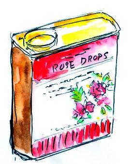 ドロップの缶