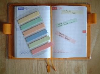 使用例 ほぼ日手帳