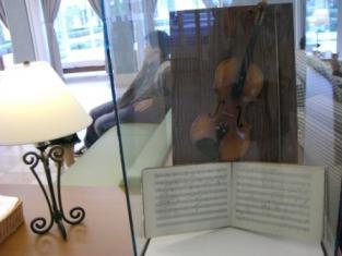 ロビーのバイオリン