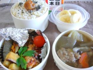 白菜&鶏だんごスープ弁当