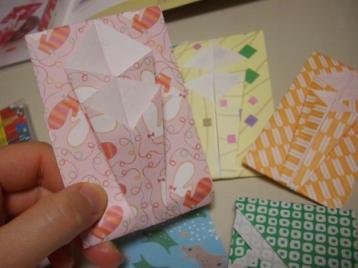 手作りぽち袋(のし)