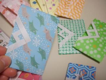 手作りぽち袋(重ね折り)