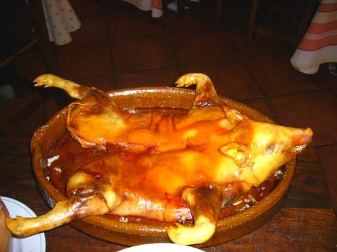 セゴビアの子豚の丸焼き 1