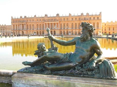 ベルサイユ宮殿 庭園3